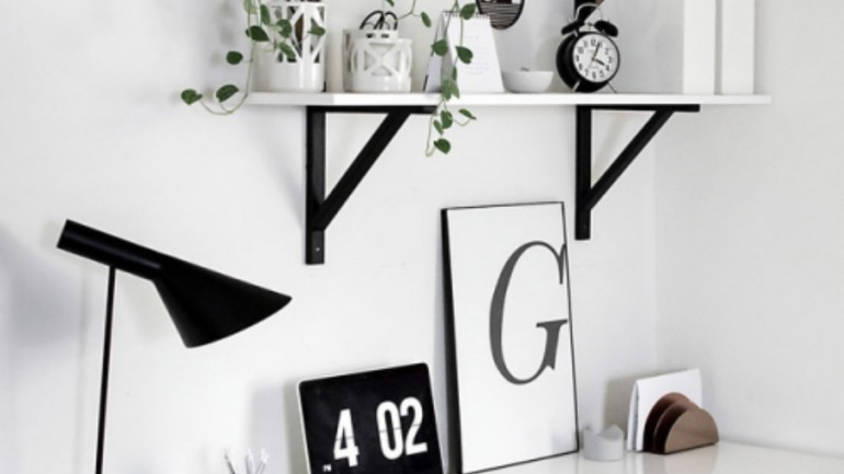 Minimalist Monochrome Interior Inspiration