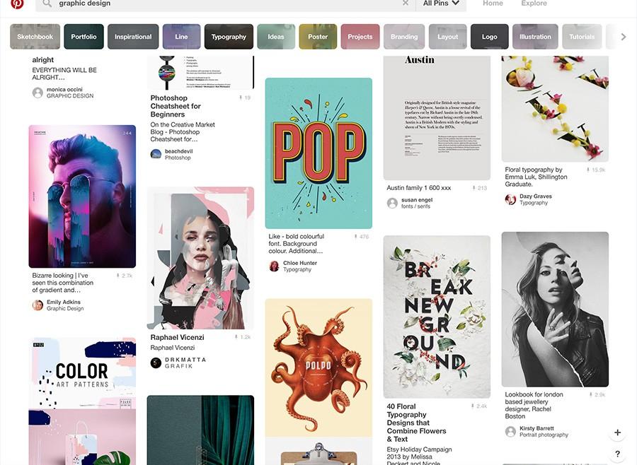 Design Inspiration - Pinterest