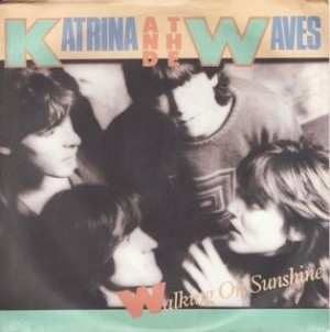 Katrina And The Waves - Walking On Sunshine - Music for Lockdown Listening - Graceful Blog