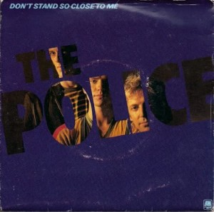 The Police - Don't Stand So Close To Me - Music for Lockdown Listening - Graceful Blog